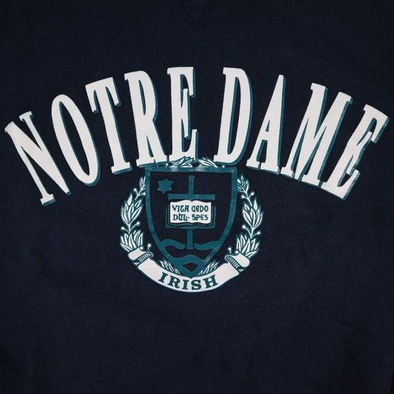 Vintage 80s Notre Dame Champion pullover sweatshi… - image 2