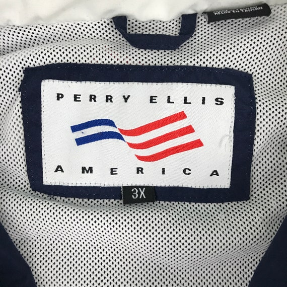 Vintage Perry Ellis America Windbreaker Jacket - image 4