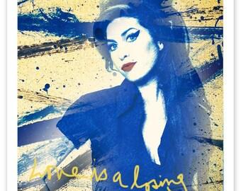 Amy Winehouse RockArt