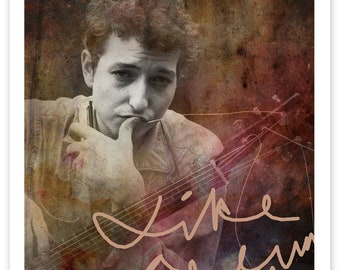 Bob Dylan RockArt