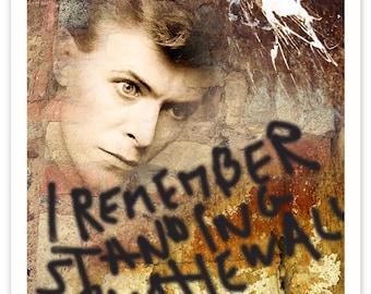 David Bowie RockArt