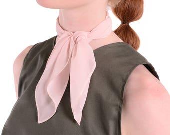50% SALE - Blush Pink Neckerchief