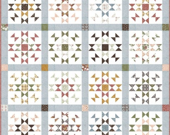 Good Fortunes PDF Digital Quilt Pattern by Pieced Just Sew, Fat Quarter or Fat Eighth Friendly