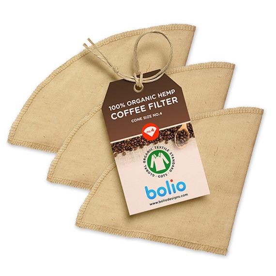 Bolio Organic Hemp Coffee Filter 4