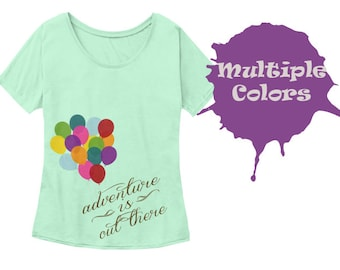 Adventure is Out There - Up Inspired Slouchy Tee Shirt