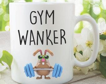 Funny Novelty Coffee Mug Gym Wanker Husband Boyfriend Best Friend Gift Lover Cup Birthday Christmas Secret Santa Idea MYSMUG1206