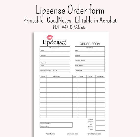 Lipsense Order Form invoice GoodNotes notability digibujo pdf A4 and on order of service, order management, order letter, order symbol, order list, order of the spur certificate, order from walmart, order time, order sheet, order of byte sizes, order book, order paper, order flow, order template, order now, order of reaction, order processing, order number, order button, order pad,