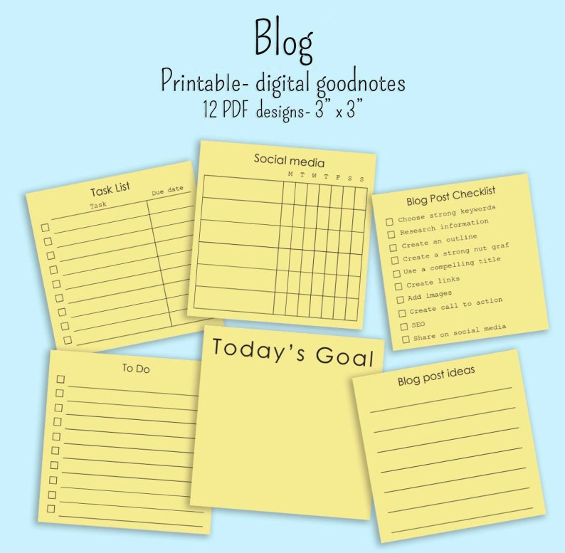 graphic relating to Printable Post It Note identify 12 Blog site memo notes 3\