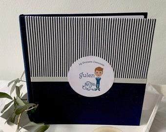 Album de fotos | Libro de firmas Primera Comunión Azul