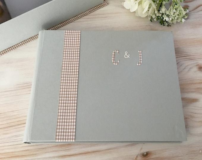 Featured listing image: Álbum - Libro de firmas minimalista y distinguido. Un clásico para tus grandes acontecimientos