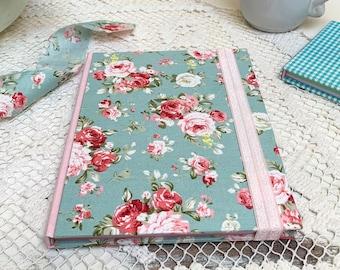 Cuaderno Floral Print amantes del escribir a mano