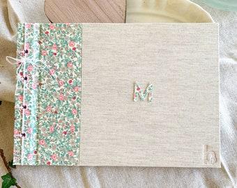 Álbum de fotos | Libro de firmas lovely floral print