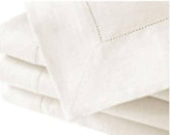 "65""x84"" Rectangular cotton/linen white tablecloth"