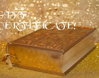 Five Card Reading Gift Certificate- Inner Child Tarot Card Deck