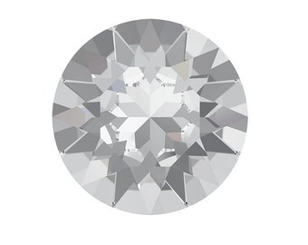 6 x Swarovski 1088 SS39 Crystal Xirius Chaton Round Foiled - 8mm - Crystal cabochon - Jewelry findings [SW001]