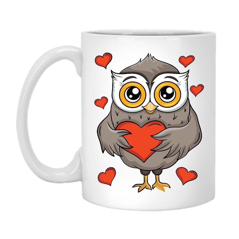 Owl Mug For Him Valentines Day Mug For Him Mug-2