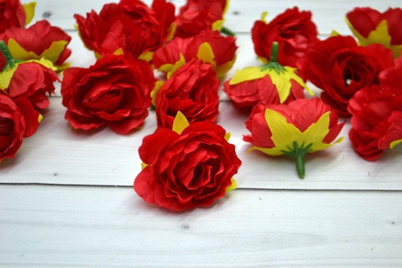 Silk artificial flowers mini flowers artificial rose flower etsy image 0 mightylinksfo