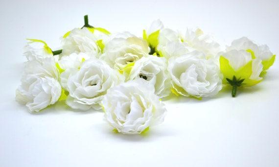 Fleurs Blanches Artificielles Roses Artificielles Petites Fleurs