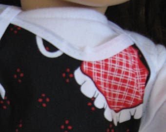 """Apron for 18"""" Doll fits American Girl Doll"""