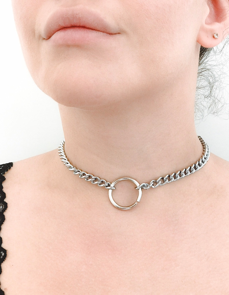 Chain choker with o ring
