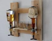 Wall mounted Liquor dispenser / wine bottle dispenser