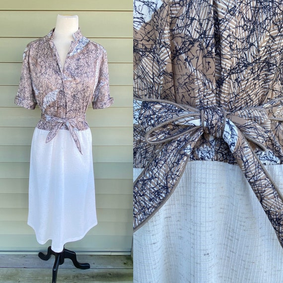 Vintage 70s Dress/ 1970s Dress/ Kitty Forman/ That