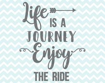 Enjoy the ride svg | Etsy