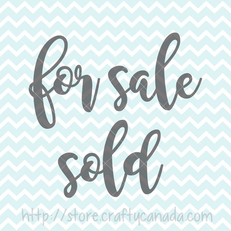 For Sale SVG and PNG Sold svg And png Printable Cricut svg Silhouette svg diy Signs Commercial Use svg