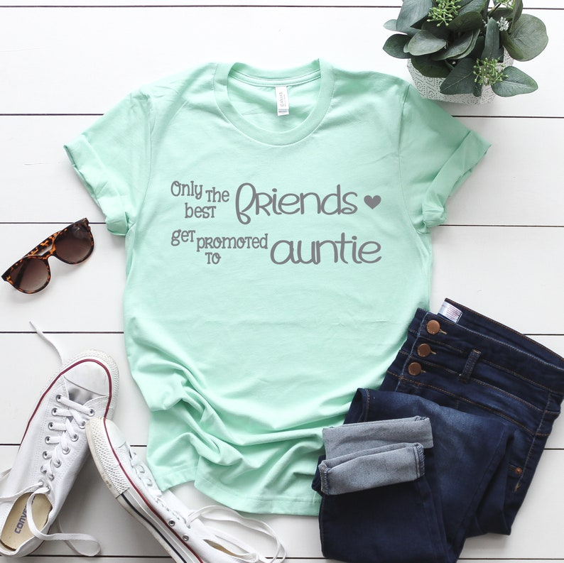 htv Designs Auntie Quote Aunty Cricut svg Best Friends Quote Quote Only The Best Friends Get Promoted To Auntie SVG SVG Files