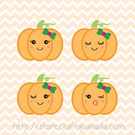 pumpkin face svg and png cute pumpkin pumpkin svg pumpkin etsy