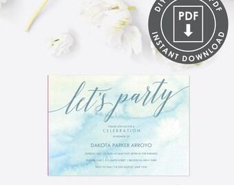 100th birthday invitations etsy 100th birthday party invitation editable pdf 014 filmwisefo