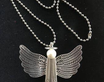 Vintage silverware Angel