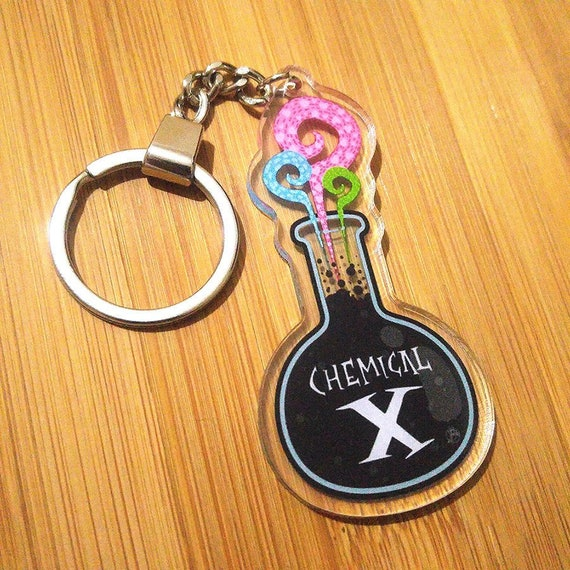 CHEMICAL X - Double sided Acrylic Keychain