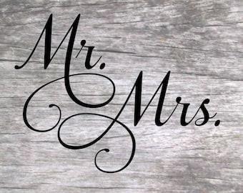 Mr. and Mrs. SVG Design