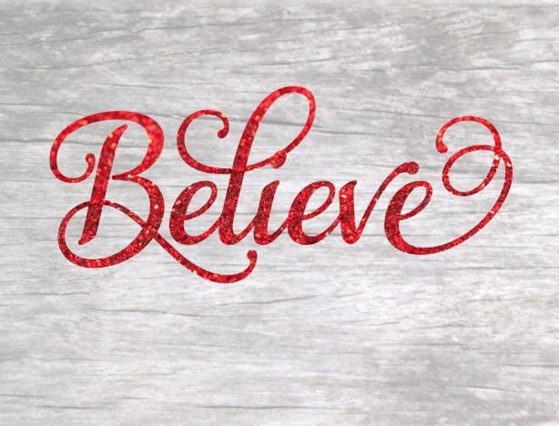 Believe SVG Design image 0