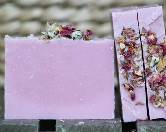 Roses & Lemonade Unique Blend Handcrafted Bar Soap For Hands and Body