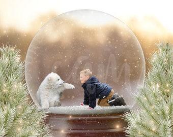 Custom Snow Globe Etsy