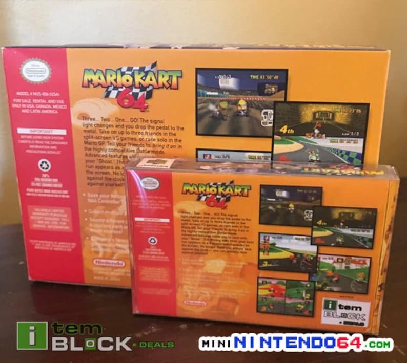 Mini Nintendo 64 Protector Boxes / Cases