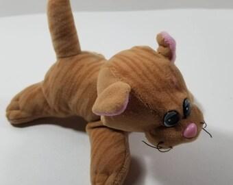 Tabby Cat Plush Etsy