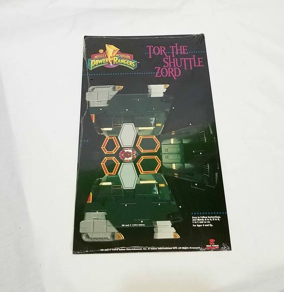 1994 Power Rangers Origami Paper Art White Tiger Zord