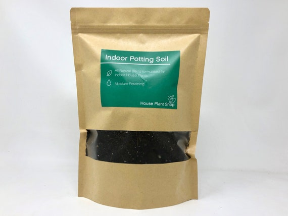 Potting Soil - Premium Organic Blend for houseplants - 0 8 lb bag