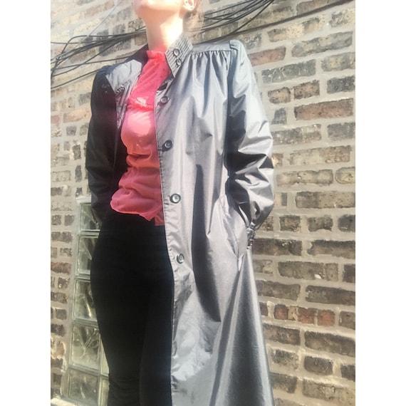 vintage 1980s trench coat vintage raincoat