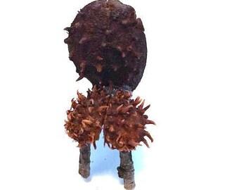 Miniature Chestnut Fairy Chair