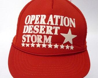 Desert Storm Veteran with Ribbons ODG Military Hat  Baseball Cap