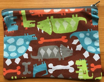 Reusable Snack Bag - Dinosaurs