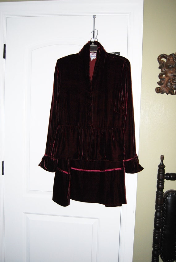 Vintage April Cornell jacket and skirt size small