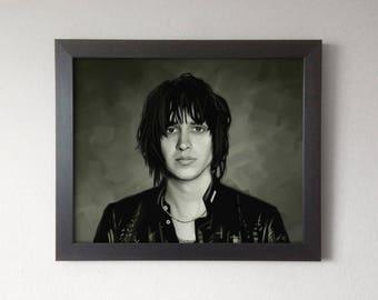 Julian Casablancas Portrait Painting