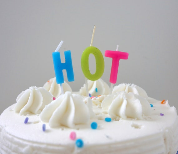 Hot Candle Cake Birthday Party