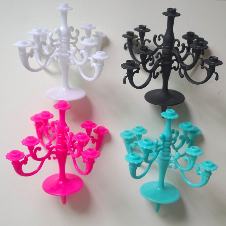 Chandelier Cake Topper Candle Holder Fancy