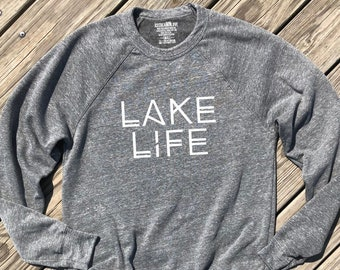 67e28b5e0 lake life shirt, lake shirt, dark grey unisex tee, beach shirt, boat shirt,  beach please, lake life gift, boat lovers gift, boat accessories